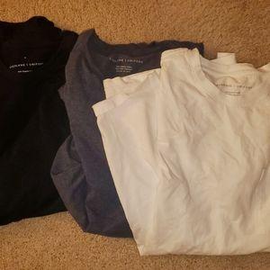 4 Everlane uniform tees